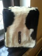 Wwii German Army Backpack Rucksack Fur Tornister Pony Hair Wehrmacht Repro