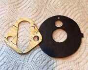 Nos Ford Boss 429 R/m Fuel Pump Gasket And C9az Oil Adapter Fibre Gasket W/ Tab.
