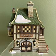 Dept 56 Bean And Son Smithy Shop 808841 Dickensand039 Village 25 Years Of Heritage