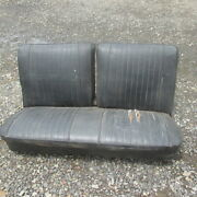 64 65 66 67 Chevelle El Camino Front Bench Seat For Recovering Local Pick Up
