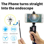 Dia 8.5mm 1m 2-ways Usb Endoscope Visual Automotive Borescope For Android Iphone