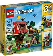 Lego Creator 3in1 Set 31053 Treehouse Adventures Fort Cubby House New Sealed