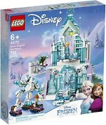 Lego Disney Princess Frozen 43172 Elsaand039s Magical Ice Palace Olaf Anna New Sealed