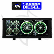 Autometer Invision Lcd Dash Universal Panel Mount Gauges