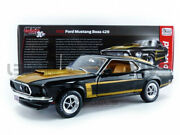 Auto World 1/18 - Ford Mustang Boss 429 Fastback - 1969 - Amm1251