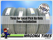 Set Of 4 New 285/45/22 Goodyear Eagle Touring Xl Tires Dot 2021 114h 2854522