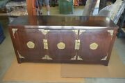 George Zee Rosewood Dresser Long Life Symbol 6 Drawers And 3 Doors Brass Hardware
