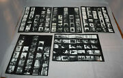 8 Vintage Photographer Black And White Nord Studio Contact Sheets Rare Art World