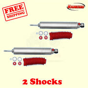 Rs9000xl Front Lift Shocks For Jeep Wrangler Yj 4wd 86-96 Kit 2 Rancho