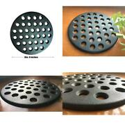 Bbq High Heat Cast Iron Charcoal Fire Grate Fits For Large Big Green Egg Fire Gr