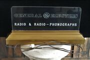 Orig./rare 1930and039s Ge General Electric Radio-phonograph Lighted Store Display