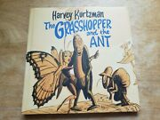 Harvey Kurtzman The Grasshopper And The Ant Signed By Denis Kitchen