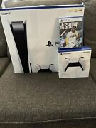 Sony Ps5 Disc Console + Extra Dualsense Controller + The Show 21 Game