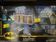 Dc Comics Batman 3 In 1 Batcave Playset And Exclusive 4 Action Figure New Sealed
