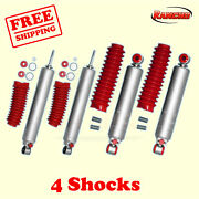 Rs9000xl Frontandrear 0-1.5 Lift Shocks For Jeep Wrangler Yj 4wd 86-96 Rancho