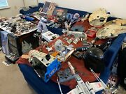 Star Wars Assorted Action Figure-vehicle-parts And Collectible Lot. Worldwide Ship