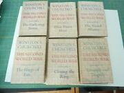 The Second World War By Winston Churchill. 6 Volume Set. First Printing In Dj