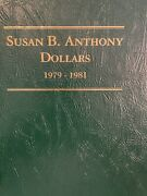 1979-1999 Susan B Anthony Dollar Collection W/ Proofs And Type 2and039s