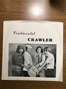 Continental Crawler 45 Ep Promotional Pollution 1979 Private Power Pop Misfits