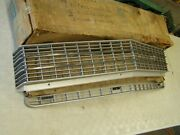 Nos Oem 1969 Chevrolet Caprice Upper + Lower Grille Pair Chevy
