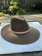 Lack Of Color Groove Hat Anthropologie Brown Wool Rancher Style Small