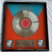 The Outfield Play Deep Multi Platinum Framed Album Framed Collectors Piece