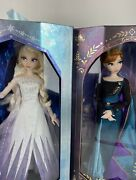 Disney Anna And Elsa Frozen 2 Limited Edition Dolls Rare In Hand