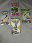 Ex Deoxys Booster Packs Unweighed Fatory Seald X4