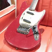 Fender Usa Mustang Made In Usa Red Ss Vintage 1966 Used Electric Guitar