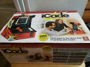 Nib Sealed Ion Icade Video Table Top Arcade Bluetooth Cabinet For Ipad And Tablets