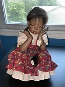La Collection Artisan Collection Whitney Rare With Tags Antique/vintage Doll