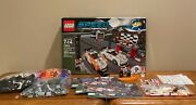 Lego Speed Champions Porsche Finish Line 75912 -100 Complete W/box And Manuals