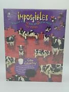 Bepuzzled Impossibles Cow Country 750 +5 Extra Pieces Jigsaw Puzzle - New/sealed