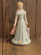 Enesco Growing Up Girls Birthday Girl Age 15 Blonde Hair 1981 With Box