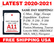Navigation Sd Card Sync Compatible With Ford Lincoln A11-roads Cover Usa Canada