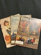 3 Issues Of Farm Journal - The Magazine Of American Agriculture 1953, '65, '66