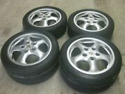 Porsche 993 Cup Wheels And Tires From Carrera 4 1996
