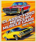 Complete Book Of Classic Ford And Mercury Muscle Cars 1961-1973 Booknew 2018 Hc