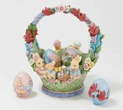 Jim Shore Heartwood Creek - Easter Collection - Easter Basket With Eggs