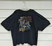 Harley Davidson French Lick, Indiana T-shirt Size Xx Large Pin Up Graphics.