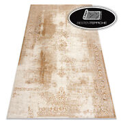 Modern Wool Rugs And039 Nainand039 Frame Vintage Ornament Beige Best Quality