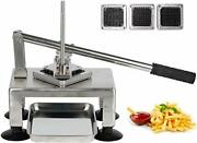 French Fry Cutter Fry Maker Press Stainless Steel Potato Slicer Blades Of