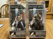 Neca Resident Evil 10th Anniversary Chris Redfield/jill Valentine - New And Sealed