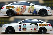 Dragon Ball Anime Car Door Vinyl Body Sticker Graphics Decal Fit Any Auto