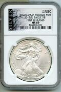 2013s American Eagle 1 Oz Silver Dollar Ngc Ms69 First Releases Bq216