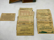 Ho Gauge Lot Of Vintage Walthers, Champ,and Sampson Model Train Decals - Used -h6