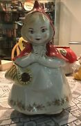 Cookie Jars Vintage 967 Little Red Riding Hoodhull Haro Patent Pending