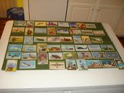 1954 Bowman Power For Peace Cards - Group Of 61 Cards Set Has 96 Cards