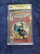 Amazing Spiderman 300 Cgc 9.0 Signed By Todd Mcfarlane And David Michelinie