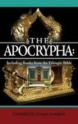 The Apocrypha Including Books From The Ethiopic Bible 9781936533633 | Brand New